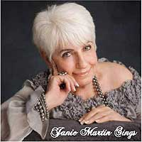 Janie Martin sings cd cover